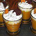 Cappuccino de potiron