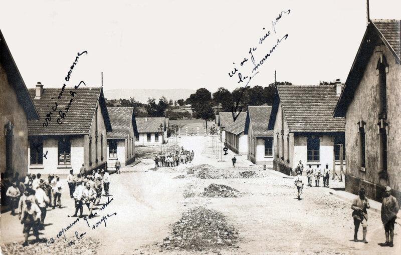 CPhoto Belfort Caserne Rethenans 1914-21