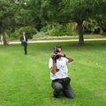 le photographe et le caméraman officiels