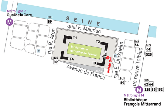 BNF_Francois_Mitterand_paris_plan_situation