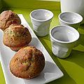 Muffins au citron et aux graines de pavot, sans gluten et sans lactose