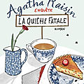 Agatha Raisin enquête : La Quiche fatale (Agatha Raisin and the Quiche of Death) - <b>M</b>. <b>C</b>. <b>Beaton</b>