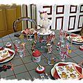 Table bonhomme en pain d'épice 005