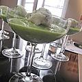 Iles flottantes au concombre de france