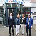 Masevaux-niederbruck: nouveaux visages à la tête du crédit mutuel de la doller