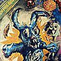 enfine gelée - 1995 - acrylique sur toile 80x80
