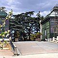 Les grandes serres du jardin des plantes de paris