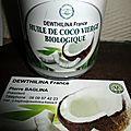 MON PARTENAIRE DEWTHILINA FRANCE et son huile de coco vierge BIOLOGIQUE
