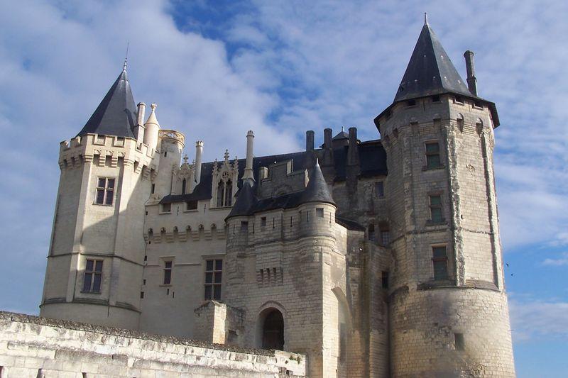 Saumur et son chateau