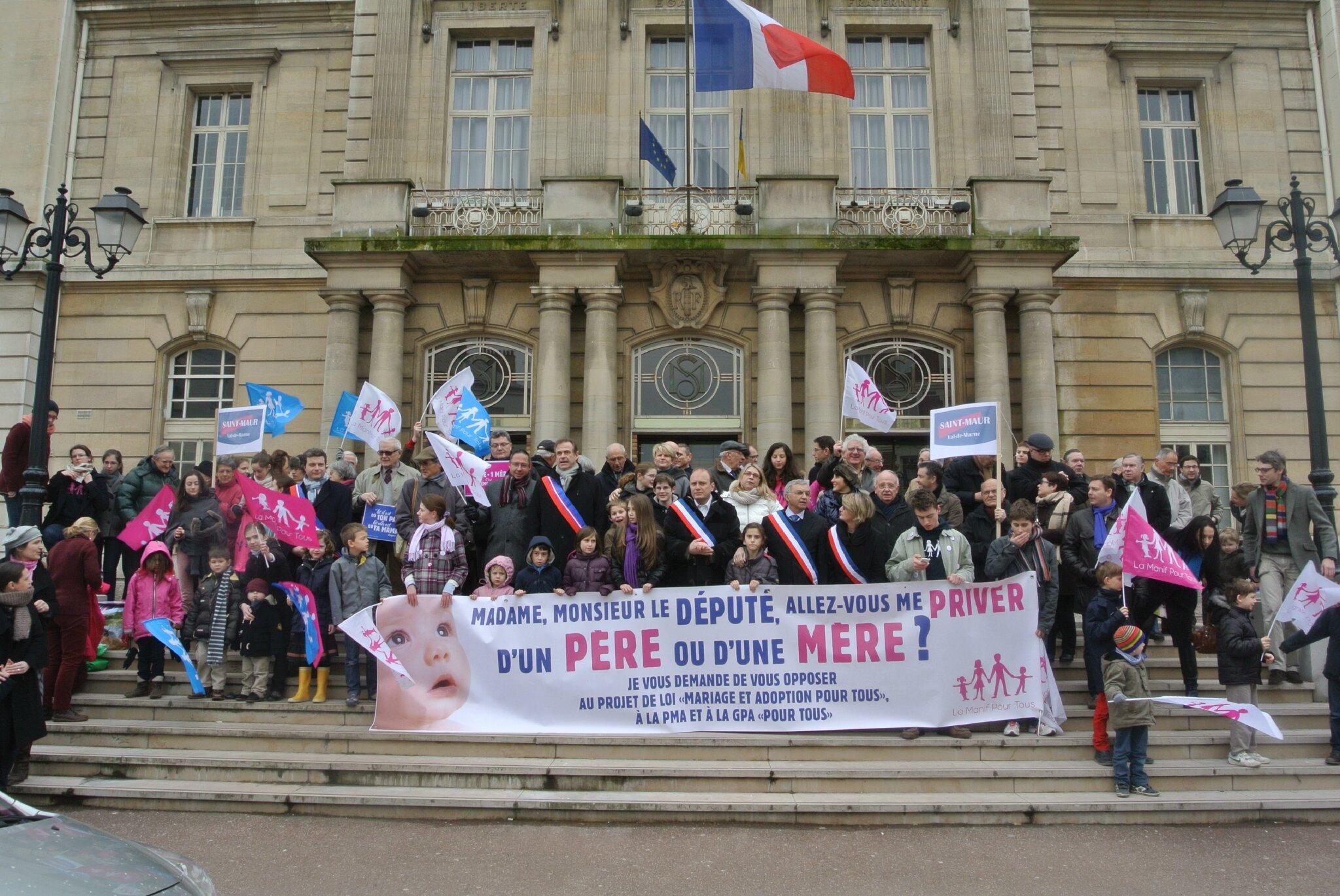 LMPT à la Mairie St Maur le 2 mars