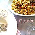 Quinoa à la <b>laitue</b> de mer et au safran
