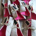 Portes-serviettes pour décorer une Table de fête