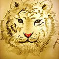 Comment dessiner une tête de tigre