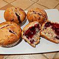 Muffins explosion de fruits!
