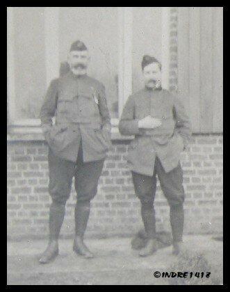 le commandant Renard et le lieutenant Sohier