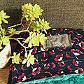 Couverture fleurie pour maya