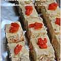Cheesecake salé au saumon fumé
