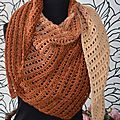 Crochet Boomerang Shawl by Annie Crochet Design