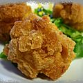 Croustillant de poisson thailandais ou tod mun plaa muek