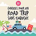 10 CONSEILS POUR UN ROAD TRIP AUX USA RÉUSSI (<b>infographie</b>)
