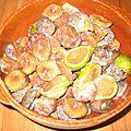 Confiture de figues fraîches