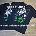 The Black Star Tour Product/Pack VIP - T-shirt exclusif