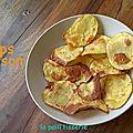 Chips maison légère