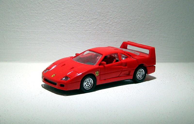 Ferrari F40 (Deluxe) Majorette 01