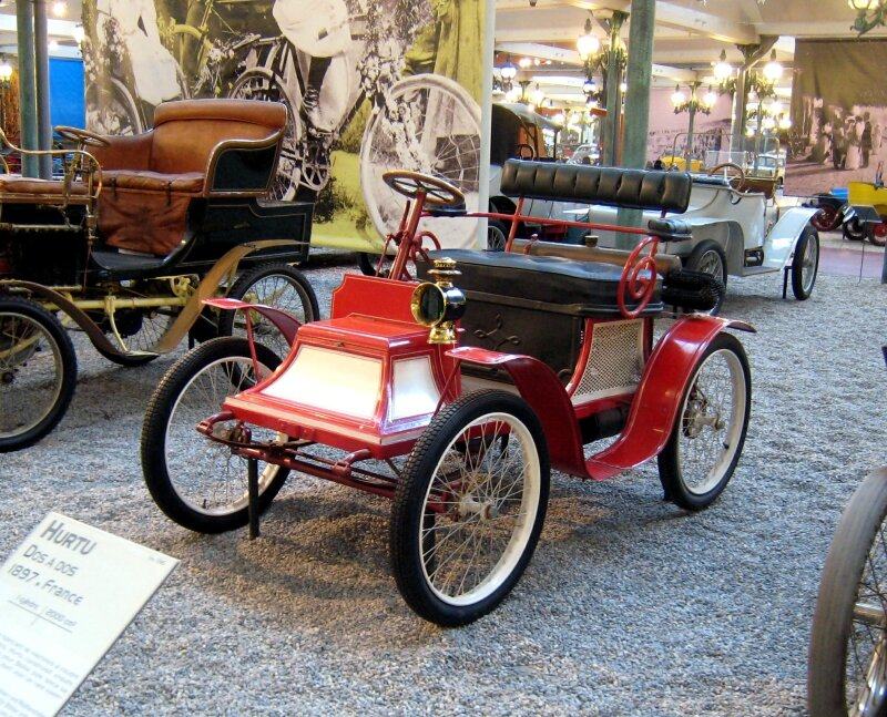 Clément - De Dion phaetonnet de 1898 (Cité de l'Automobile Collection Schlumpf à Mulhouse) 01