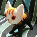 chat orangette