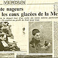 La 21ème traversée de Verdun, en Meuse, du 13 décembre 1992