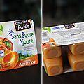 Petites mousses de pomme abricot