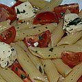 Salade de pâtes au basilic