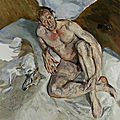 Lucian freud, portrait of the hound, 2011