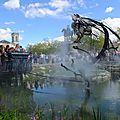 Le zoo mécanique de la place napoléon à la roche sur yon