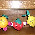 Création des Funny Fruits