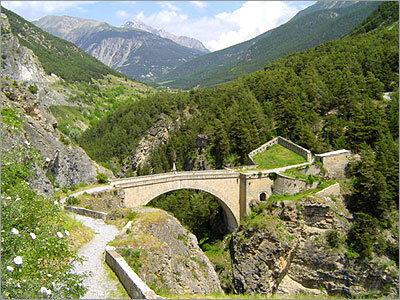 Pont d'Aspheld à Briançon