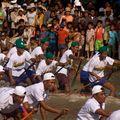 Un jour, une photo - siem reap, la fête des eaux 2008 - le départ