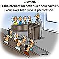 Service formation et accompagnement pour l'Église protestante unie région parisienne