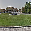 Rond-point à Guastalla (Italie)