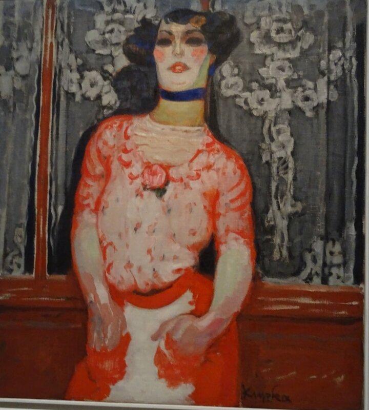 Kupka Le gout de Gallien ou La chanteuse de cabaret 1909