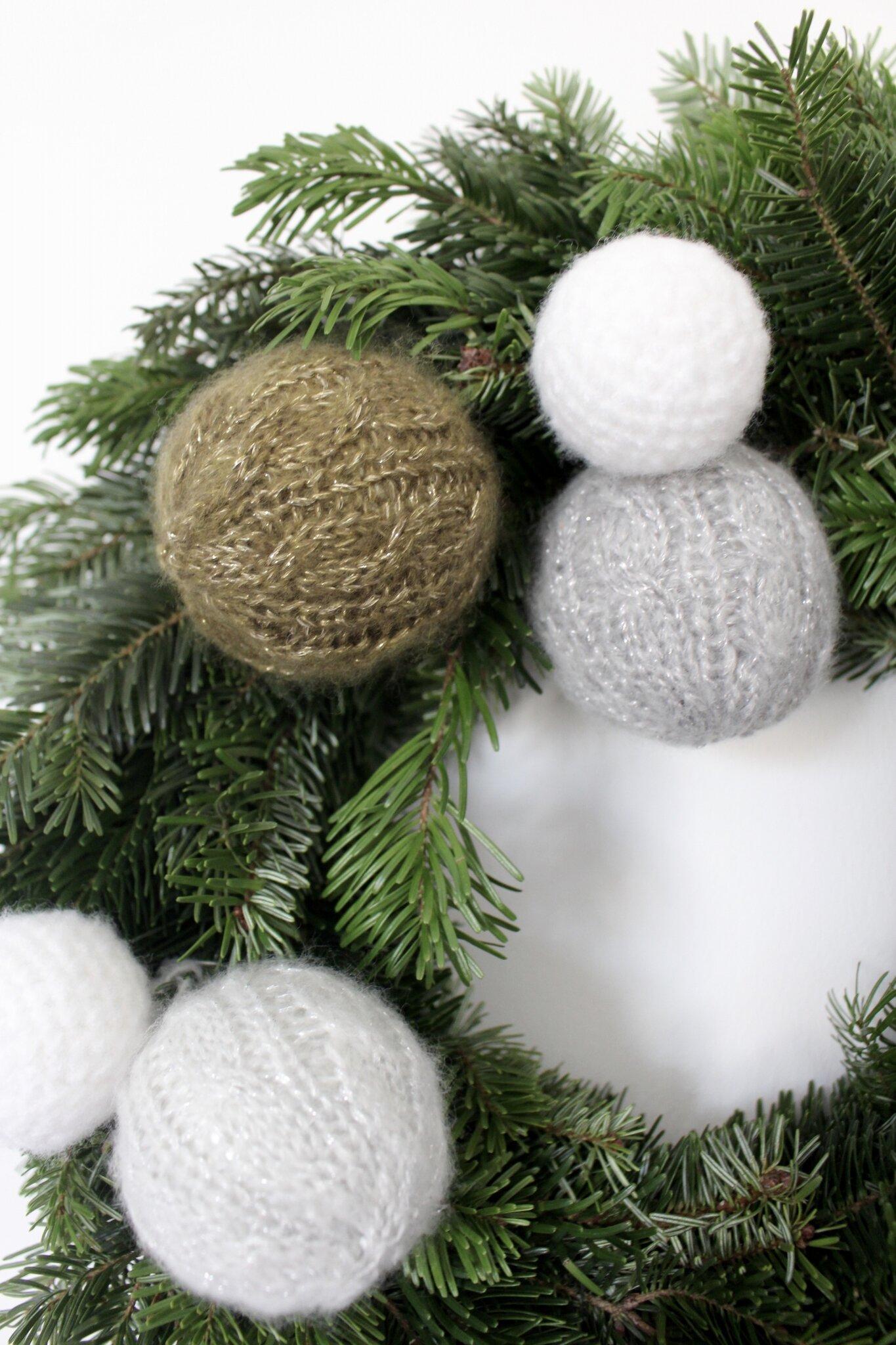 Détail couronne de Noël 2015
