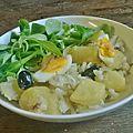 Bacalhau a gomes de sà...morue aux pommes de terre, huile d'olive et aux oignons
