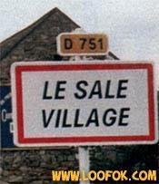 sale village