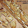 Le pain surprise en 5 minutes : variante#1