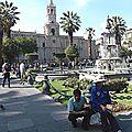 AREQUIPA - Plaza de Armas