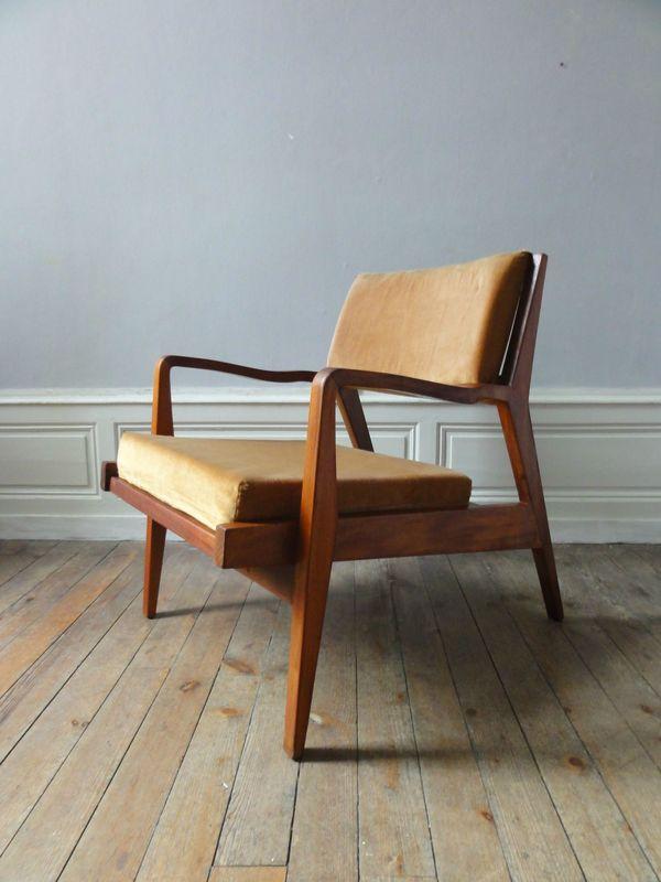 lit bebe roulotte annees 50 gris vintage moi. Black Bedroom Furniture Sets. Home Design Ideas