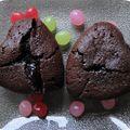 Gâteau fondant chocolat café
