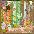 Kit colorful garden