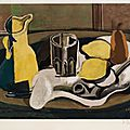 Georges braque, nature morte aux citrons